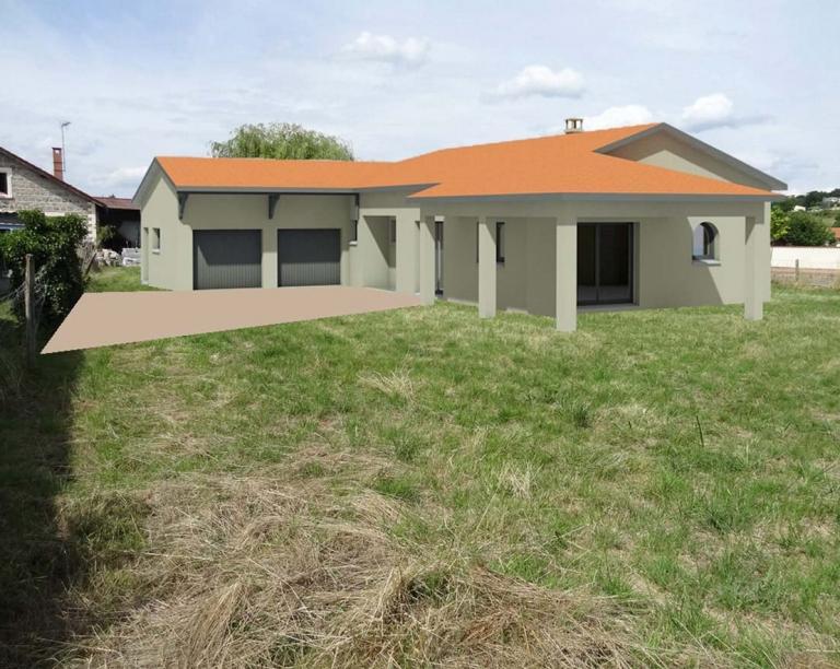 Construction maison individuelle à Pouilly-les-Feurs (Loire)