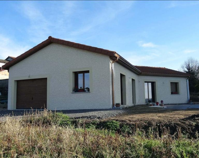Construction maison individuelle Chambost Longesaigne (Rhone)
